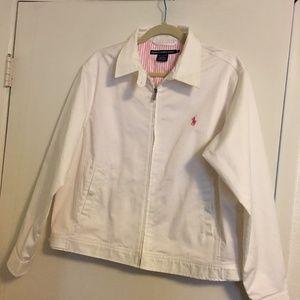 Ralph Lauren Sport White Jacket XL